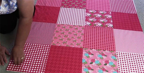 step by step baby quilt tutorial