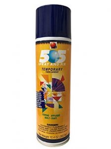 505 spray for quilters
