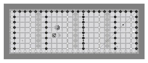 Creative Grids Ruler for Quilters