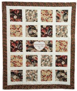 signature quilt,wedding quilt, quilting, sewing, craft