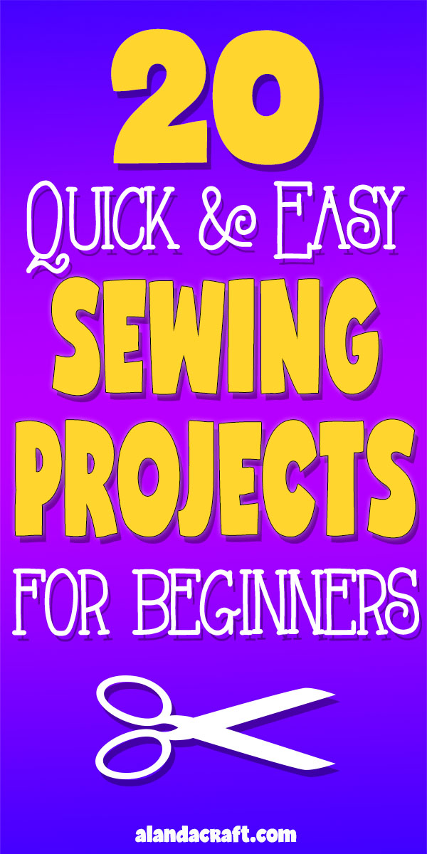 20 quick and easy sewing projects for beginners simple sewing projects for beginners most