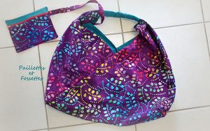 readers project, origami bag, craft, sewing