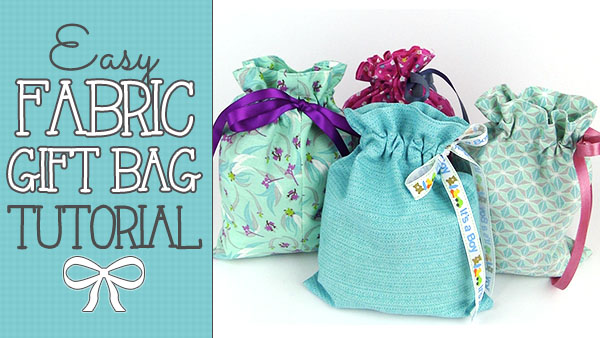 fabric-gift-bag,drawstring,bag,craft, sewing, sewing project