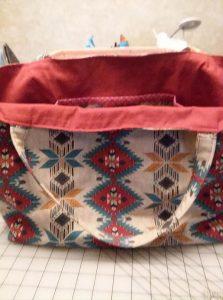 tea towel bag, craft, sewing, tote bag