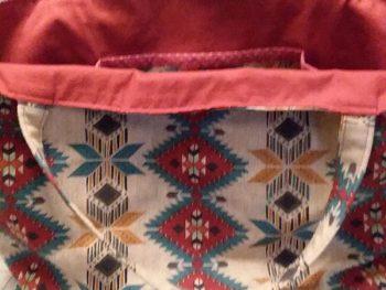 Readers Project: Wanda's Tea Towel Bag