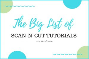 free scanncut tutorials