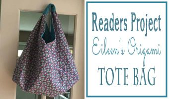 Readers Project: Eileen's New Origami bag