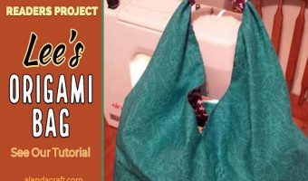 Readers Project: Lee's Origami bag