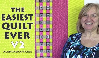 Easiest Quilt Ever V2 – Quilting for Beginners