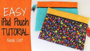 ipad-case-tutorial,ipad-cover, fat-quarter-project, sewing, craft, diy, www.alandacraft.com
