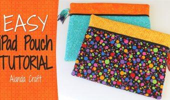 ipad-case-tutorial,ipad-cover, fat-quarter-project, sewing, craft, diy, www.alandacraft.com