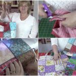 couched-tote-bag, tote-bag, diy,quilting, sewing, fabric-scraps, www.alandacraft.com