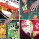 quilting, sewing, fabric-scraps, www.alandacraft.com,crumb quilt,craft,diy