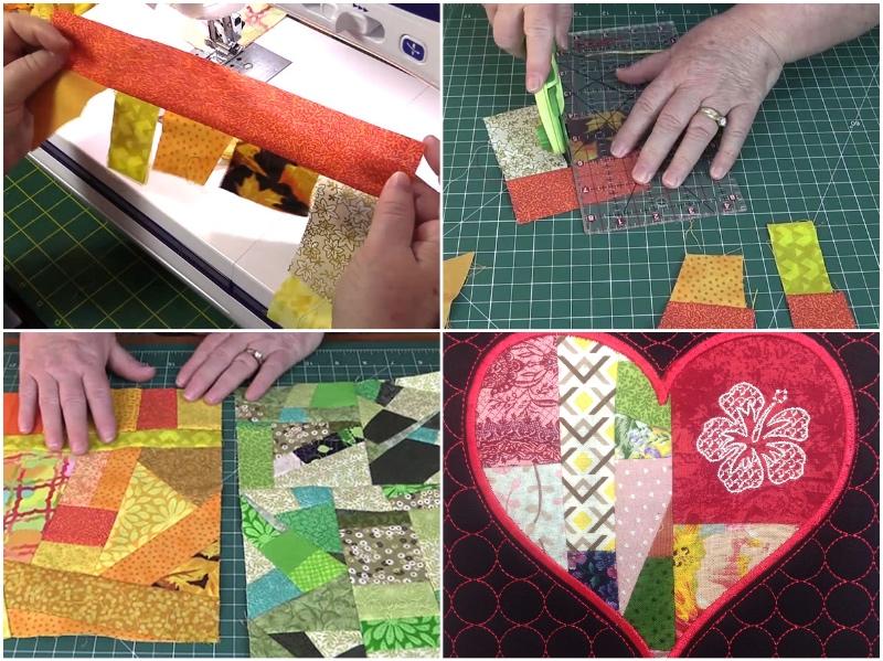 10 Ways to Use Up Your Fabric Scraps - Alanda Craft