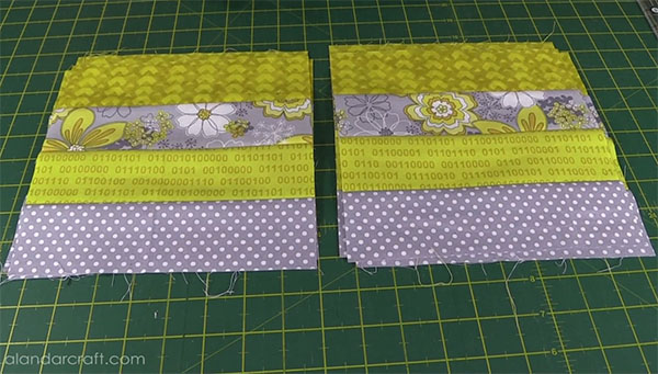 jelly roll cushon cover tutorial