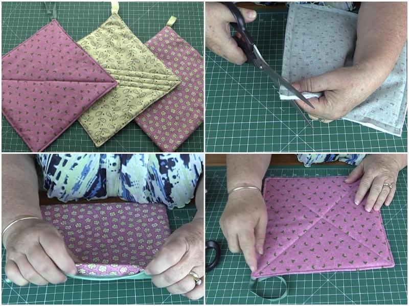 pot-holders, craft,diy,quilting, sewing, fabric-scraps, www.alandacraft.com