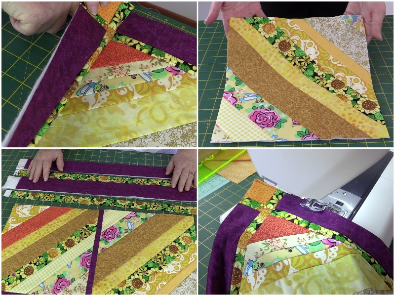 string-quilt, strip-quilt, stash-quiltdiy,quilting, sewing, fabric-scraps, www.alandacraft.com