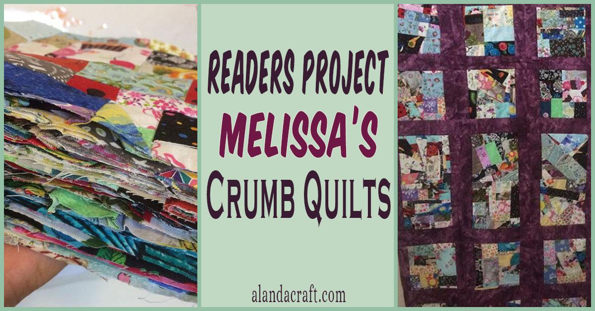 Readers Project Crumb Happy Melissa S Crumb Quilt