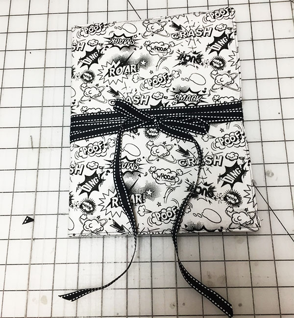 fabric fournal cover from our free journal cover tutorial