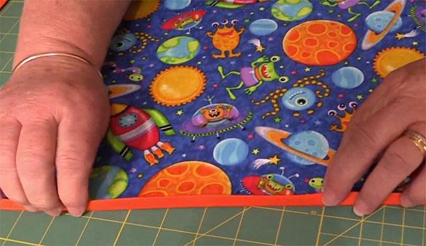 pocket book cushion tutorial