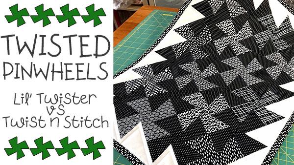 twisted pinwheels templates