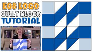 EQ Logo Quilt Block Tutorial