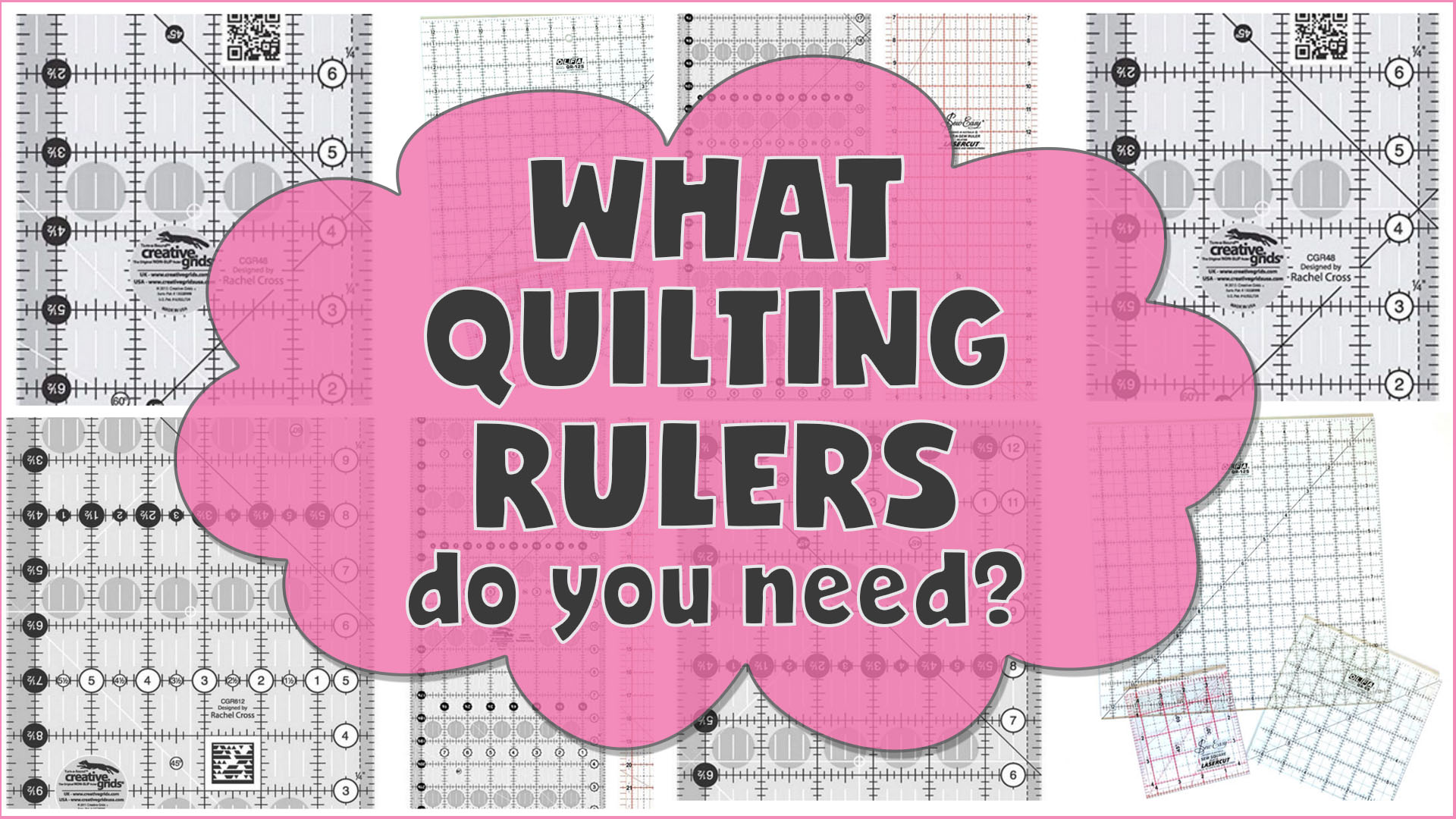 what quilting rulers do i need