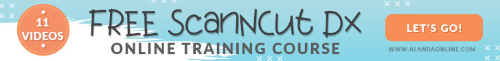 free scanncut dx training course