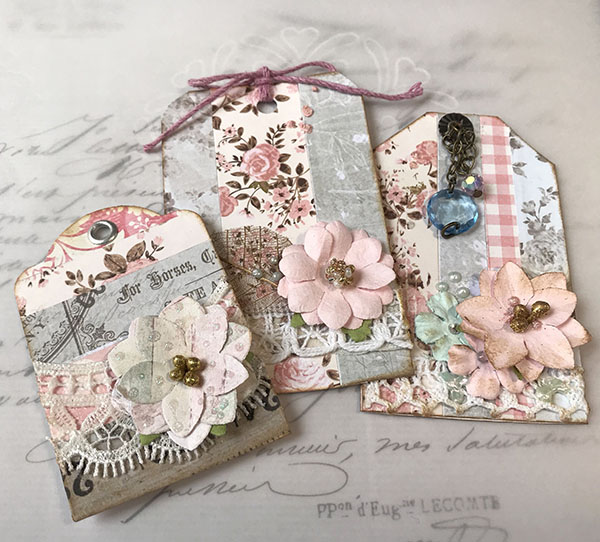 easy striped journal tags tutorial