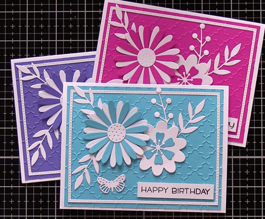 Sizzix Sophie Guilar Flower Die Card
