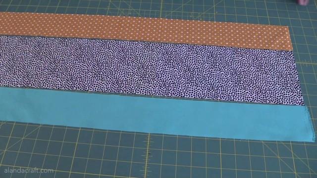 rail fence quilt tutorial