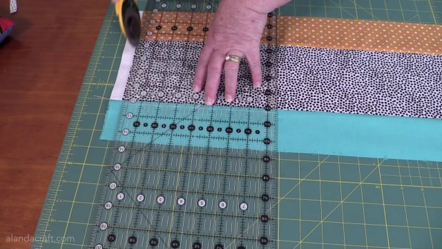 easy rail fence quilt tutorial
