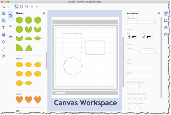 Canvas Workspace