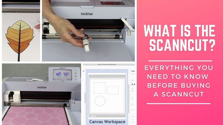 What is the ScanNCut machine?